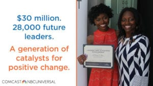 Comcast NBCUniversal Launches 2019-2020 Scholarship Program for Community-Minded High School Seniors