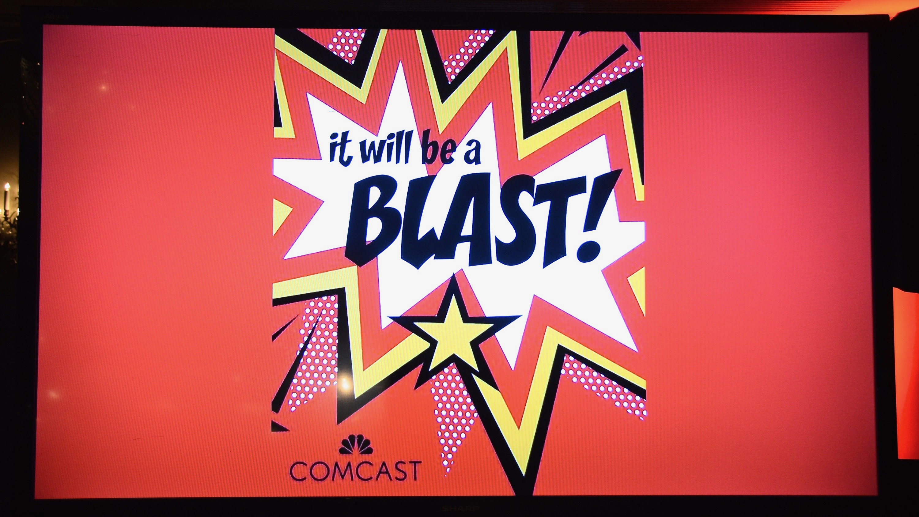 comcast blasts