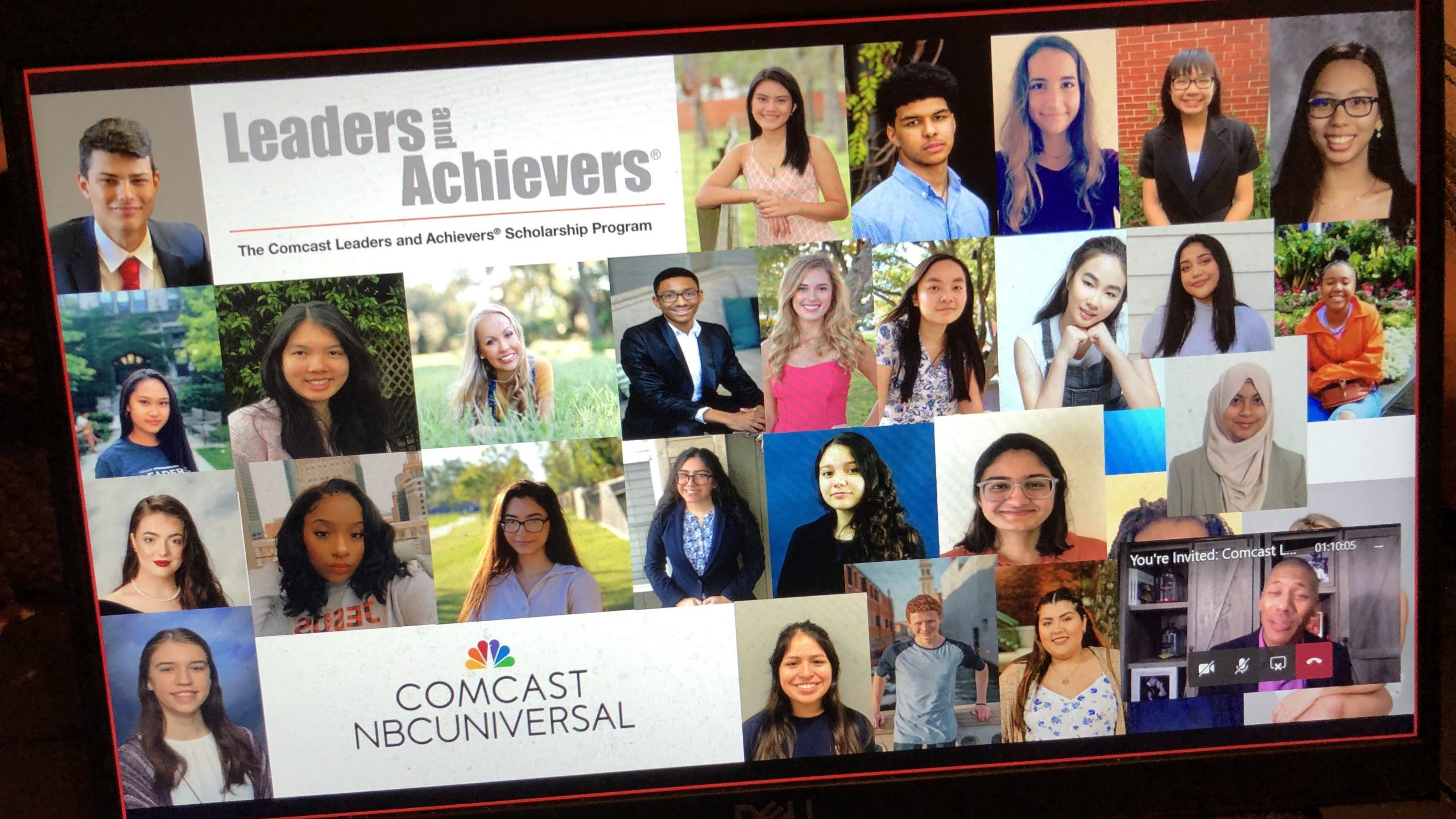 Collage of Leaders and Achievers winners